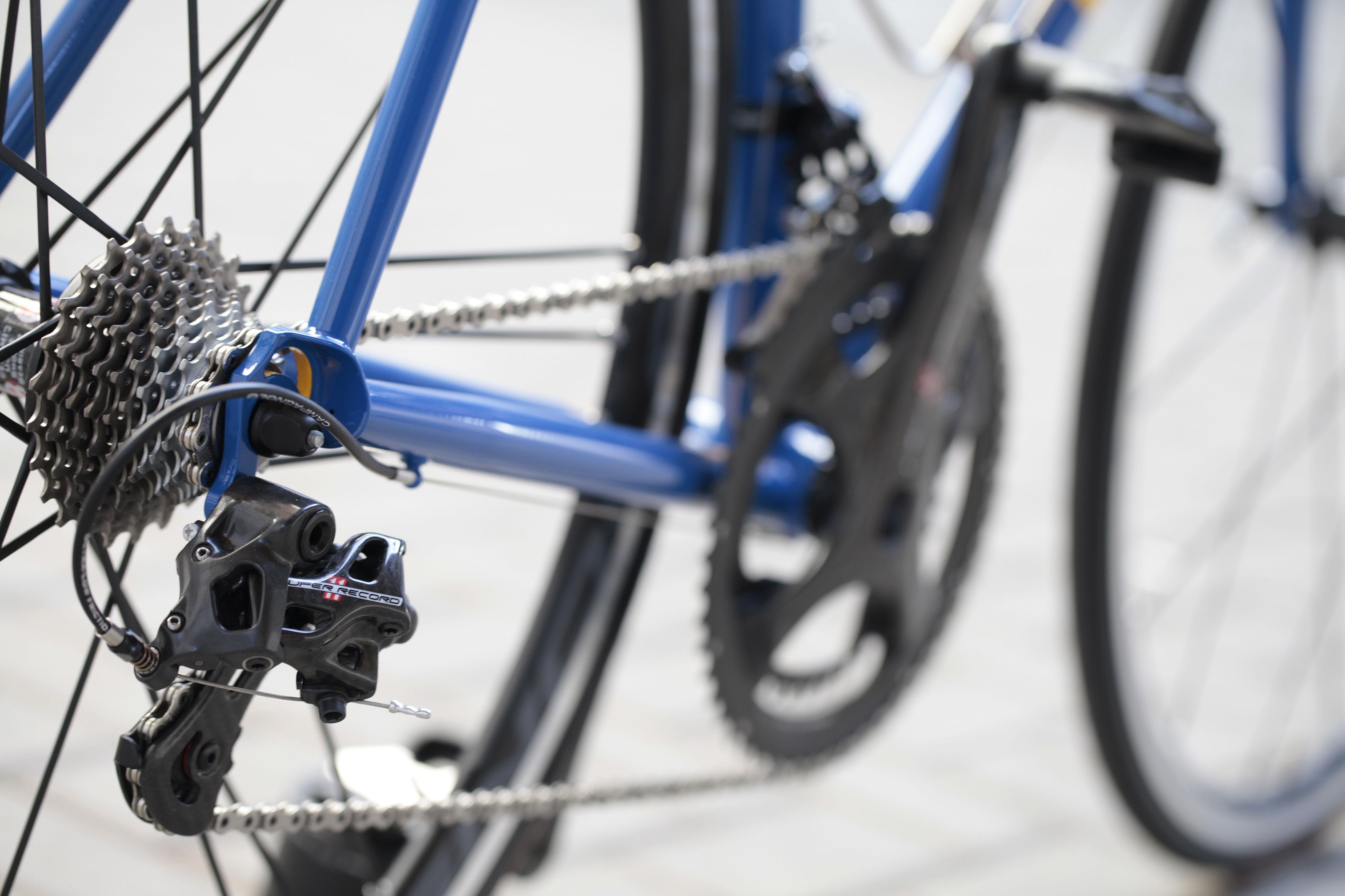 10 Dettaglio forcellini e tubi posteriori di Bixxis Prima, bicicletta artigianale in acciaio realizzata a mano da Doriano De Rosa 010