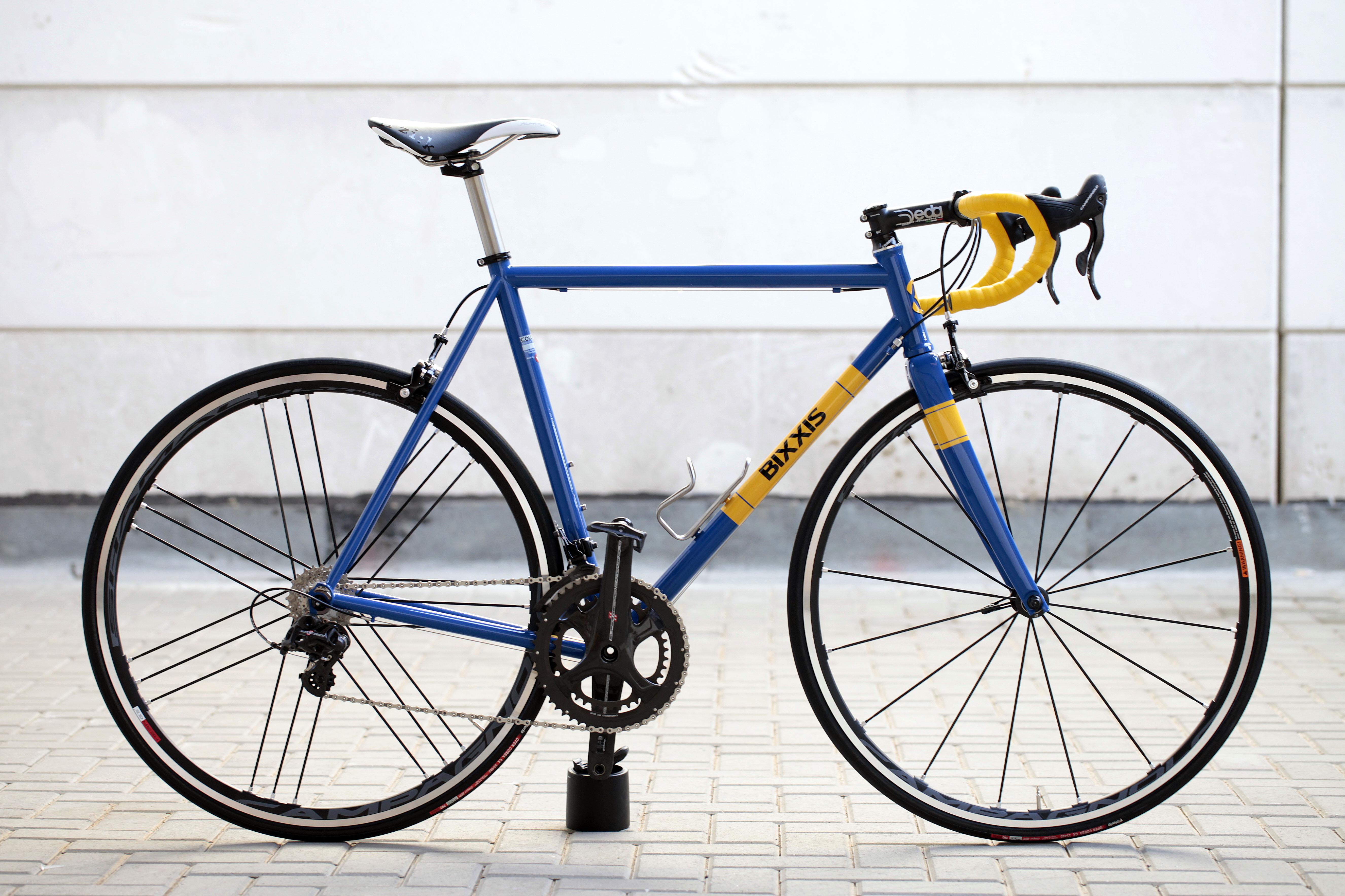 12 Bixxis Prima, bicicletta artigianale in acciaio realizzata a mano da Doriano De Rosa 012
