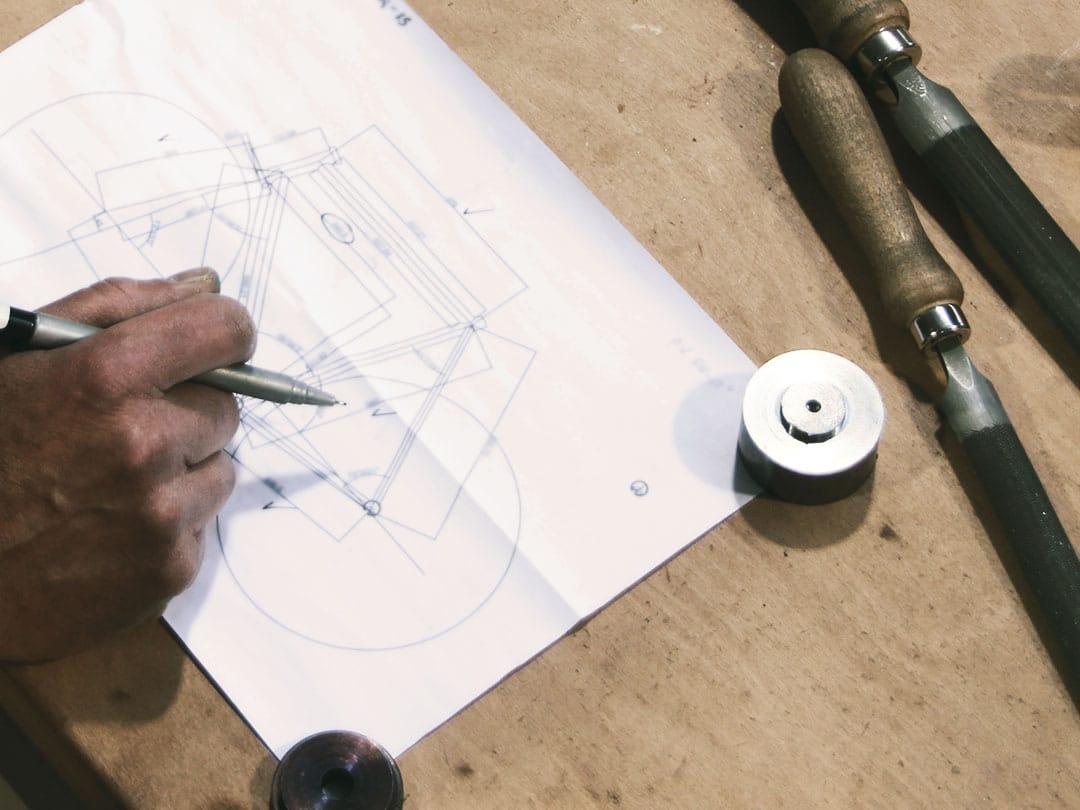 Progettazione della geometria di una bicicletta Bixxis